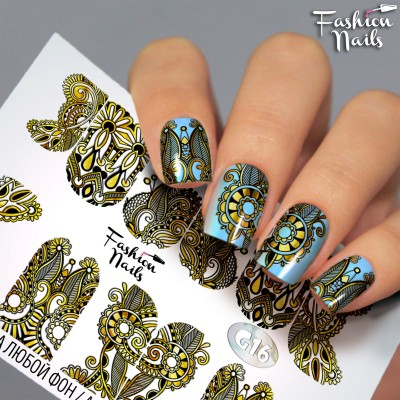 Слайдеры Fashion Nails G16